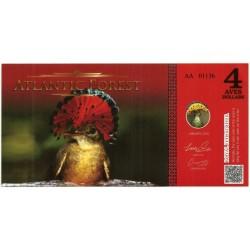 Atlantic Forest. 2015. 4 Aves Dollars (SC)