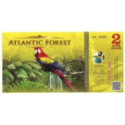 Atlantic Forest. 2015. 2 Aves Dollars (SC)