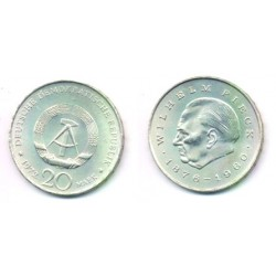 (42) Alemania Democrática. 1972(A). 20 Mark (EBC)