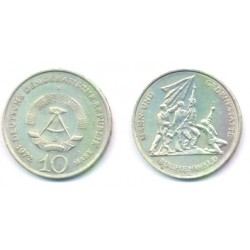 (38) Alemania Democrática. 1972(A). 10 Mark (EBC)