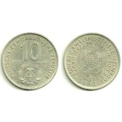 (44) Alemania Democrática. 1973(A). 10 Mark (EBC)