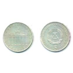 (29) Alemania Democrática. 1971(A). 5 Mark (MBC)