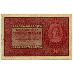 (26) Polonia. 1919. 20 Marek (MBC)