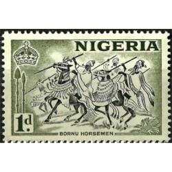 Nigeria. 1953. 1 Pound. Bornu Horsemen