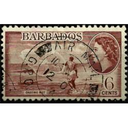 Barbados. 1953. 6 Cents. Casting Net
