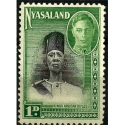Nyasaland. 1945. 1 Pound. King African Rifles