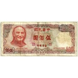 (1987) China (Taiwan). 1981. 500 Yuan (RC+)