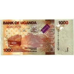 (49a) Uganda. 2010. 1000 Shilingi (SC)