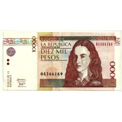 (453j) Colombia. 2007. 10000 Pesos (MBC)