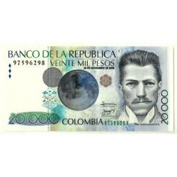 (454o) Colombia. 2006. 20000 Pesos (EBC)