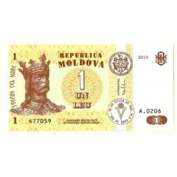 (8h) Moldavia. 2010. 1 Leu (SC)