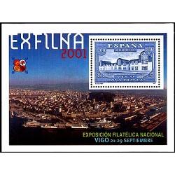 (3816) 2001. 260 Pesetas (1,56 €). Exposición Filatélica Nacional
