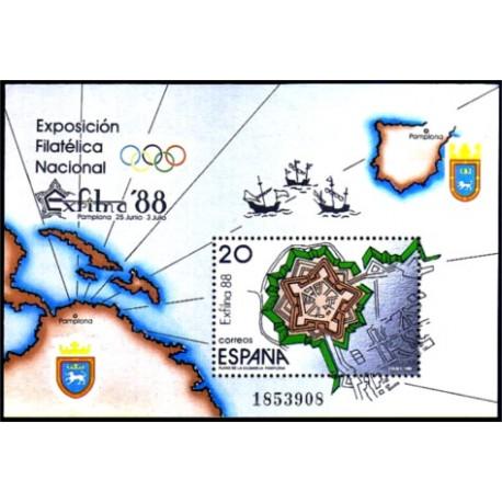 (2956) 1988. 20 Pesetas. Exposición Filatélica Nacional