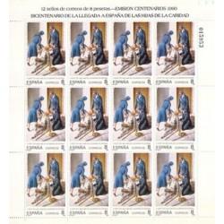 (3069,MP13) 1990. 8 Pesetas (Minipliego de 12 sellos)