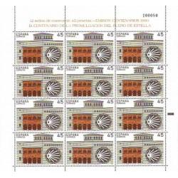 (3071,MP15) 1990. 45 Pesetas (Minipliego de 12 sellos)