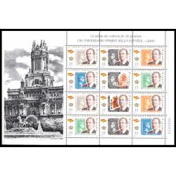 (3687 a 3693,MP68) 2000. 35 Pesetas (Minipliego de 12 sellos)
