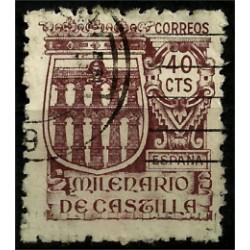 (978) 1944. 40 Céntimos. Milenario de Castilla