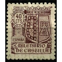 (981) 1944. 40 Céntimos. Milenario de Castilla
