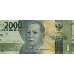 Indonesia. 2016. 2000 Rupiah (SC)