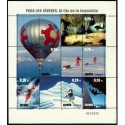 (4193) 2005. 6x 0,28 Euro. Para los jóvenes. Al filo de lo imposible.