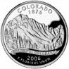 (384) Estados Unidos de América. 2006(D). Quarter Dollar (SC) Colorado