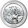 (523) Estados Unidos de América. 2012(P). Quarter Dollar (SC) Denali