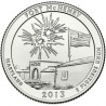 (545) Estados Unidos de América. 2013(P). Quarter Dollar (P) Fort McHenry
