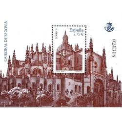 (4580) 2010. 2,75 Euro. Catedral de Segovia