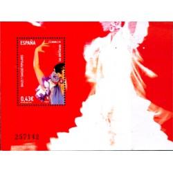(4486) 2009. 0,43 Euro. Bailes y danzas populares