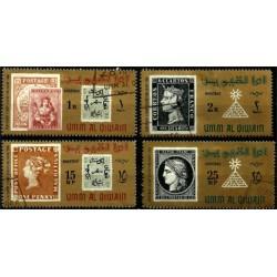 Émiratos Árabes Unidos (Umm-Al-Qiwain). 1966. Serie Completa. Centenary Stamp Exhibition