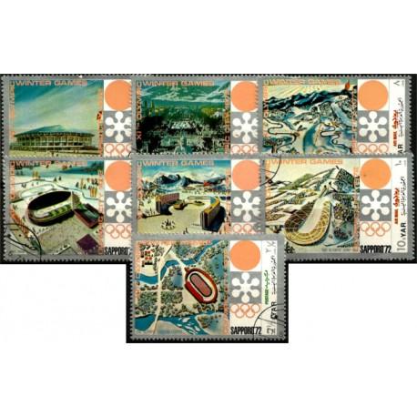 Yemen. 1972. Serie Completa. Juegos Olímpicos de Invierno 1972