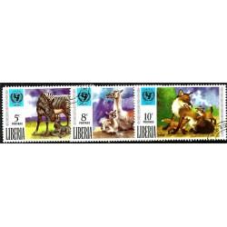 Liberia. Serie Mini. Fauna