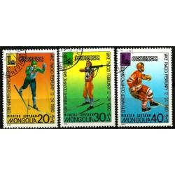 Mongolia. 1980. Serie Mini. Juegos Olímpicos de Invierno