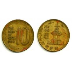 (6a) Corea del Sur. 1972. 10 Won (BC+)
