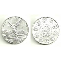 (639) Estados Unidos Mexicanos. 2012. 1 Onza (SC) (Plata)