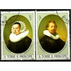 Santo Tomé y Principe. 1983. Serie mini. Rembrandt