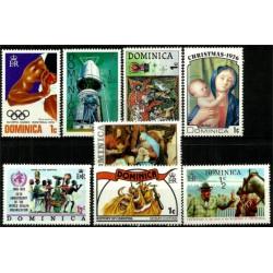 Dominica. Lote variado