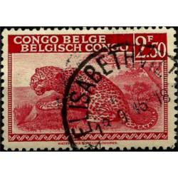 (200) Congo Belga. 1942. 2,50 Francs