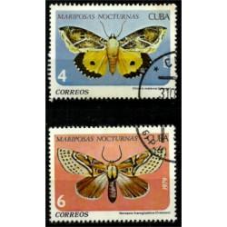 Cuba. 1979. Serie Mini. Mariposas Nocturnas