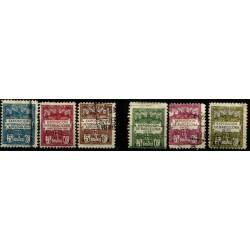 (1 a 6) Exposición Internacional de Barcelona. 1929-1930. Serie Completa