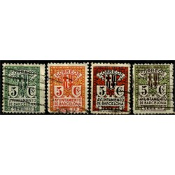(9 a 12) Exposición Internacional de Barcelona. 1932-1935. Serie Completa