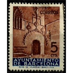 (13) Exposición Internacional de Barcelona. 1936. 5 Céntimos