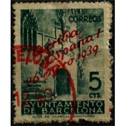 (22) Exposición Internacional de Barcelona. 1939. 5 Céntimos