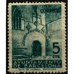 (19) Exposición Internacional de Barcelona. 1938. 5 Céntimos