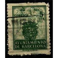 (57) Exposición Internacional de Barcelona. 1944. 5 Céntimos