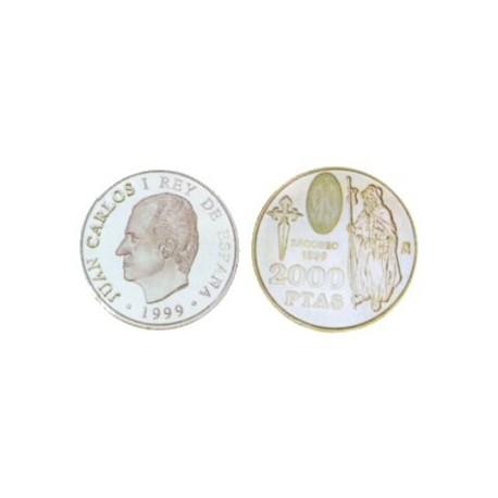 España. 1999. 2000 Pesetas (SC) (Plata)