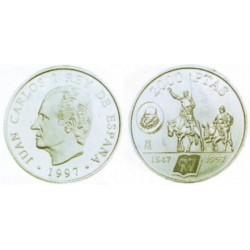 España. 1997. 2000 Pesetas (SC) (Plata)
