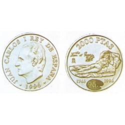España. 1996. 2000 Pesetas (SC) (Plata)