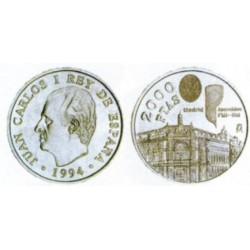España. 1994. 2000 Pesetas (SC) (Plata)