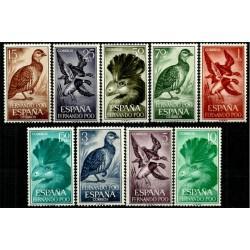 Fernando Poo. 1964. Serie Completa. Fauna (Aves)